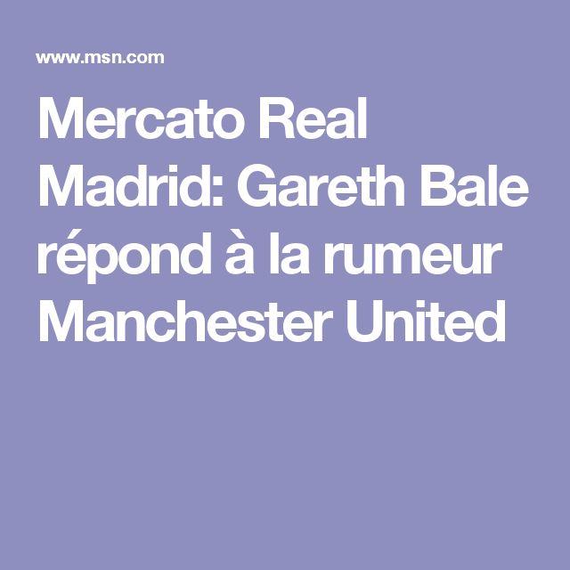 Mercato Real Madrid: Gareth Bale répond à la rumeur Manchester United