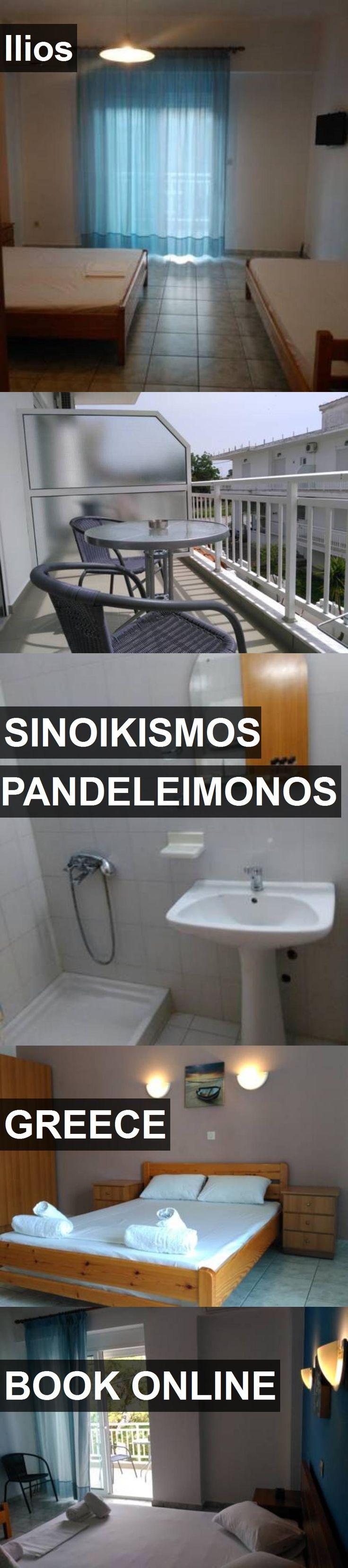 Hotel Ilios in Sinoikismos Pandeleimonos, Greece. For more information, photos, reviews and best prices please follow the link. #Greece #SinoikismosPandeleimonos #travel #vacation #hotel
