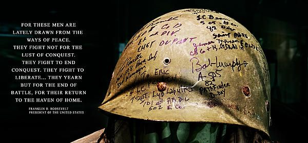 canadian d-day helmet