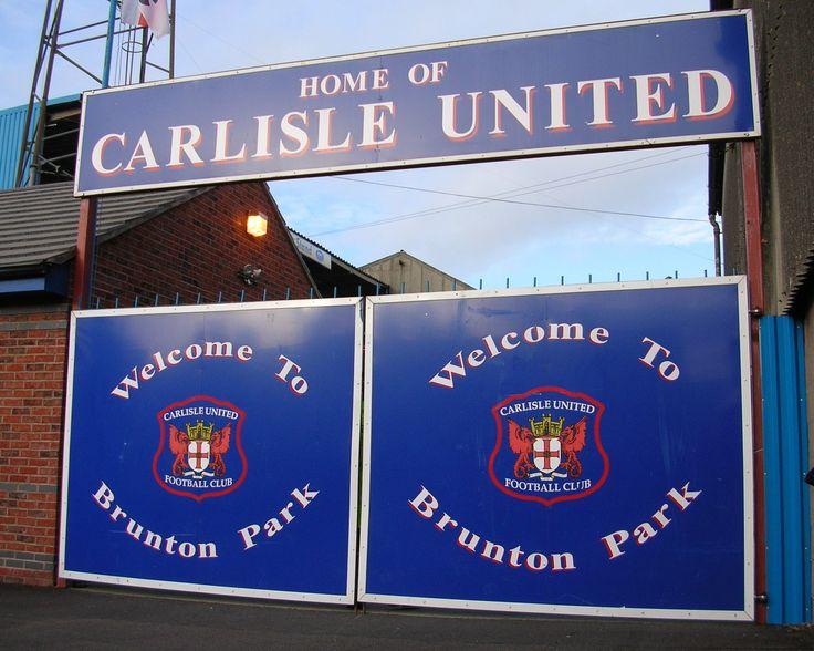 Brunton Park, the home of Carlisle United