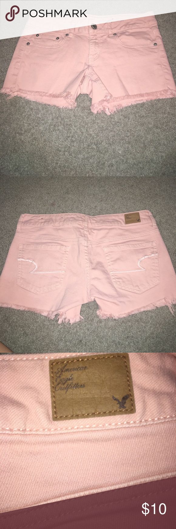 Light pink shorts Light pink American eagle shorts American Eagle Outfitters Shorts