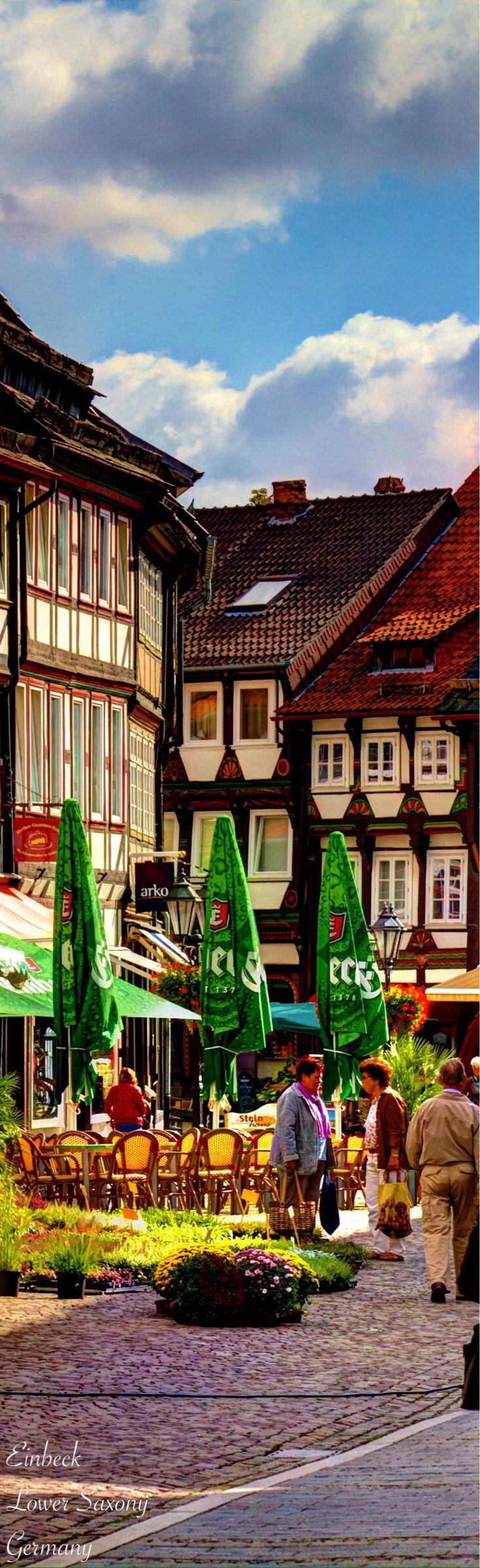 Einbeck Lower Saxony. GERMANY