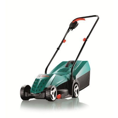 Electric Rotary Lawn Mower Home Grass Cutting Width 32 cm Large Grassbox New
