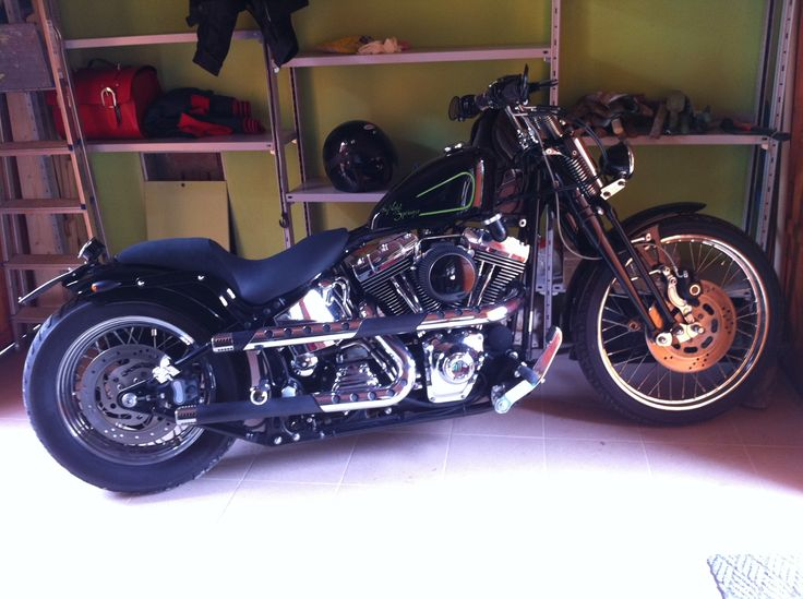 The Night Springer my '00 FXSTS by TFE Garage