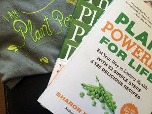 @sharonpalmerrd is offering a giveaway of her wonderful new book, Plant-Powered for Life, and an I am Plant Powered t-shirt. Check out the blog for details.