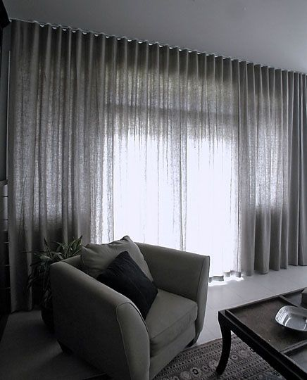 Curtains for my room. Trying to decide between the ceiling to floor curtain look, or a wood valence in the living room. I'm having difficulty fusing my rustic modern whimsy style into the window treatments.
