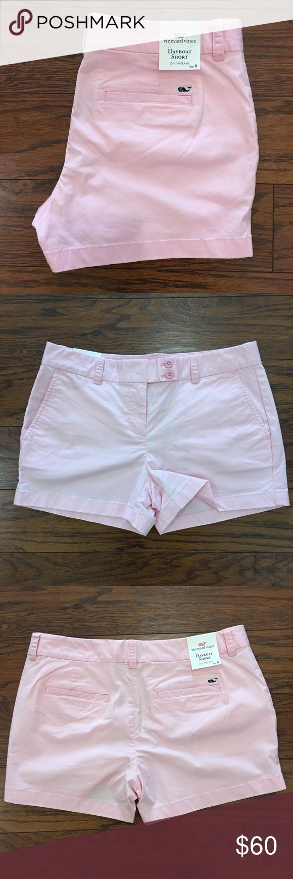 Vineyard Vines Dayboat Shorts New With Tags ✨ Machine washable / Tumble Dry 98% Cotton / 2% Spandex 3.5 inch inseam Comfortable material NOT from the outlet Vineyard Vines Shorts