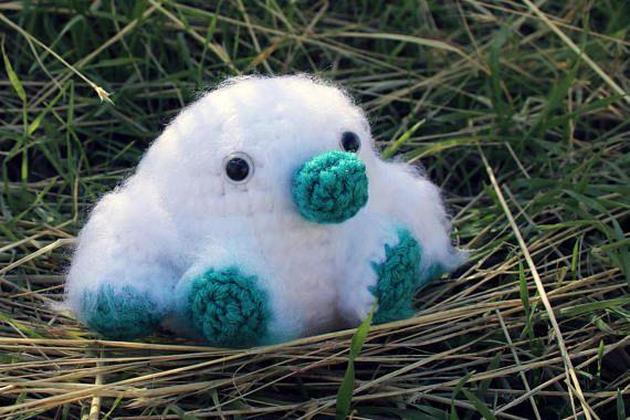 Marshmallow Yeti crochet pattern