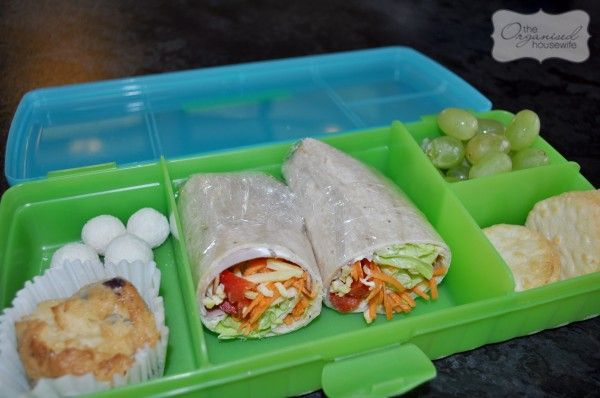 {Back to School} Freezable lunch box baking » The Organised Housewife