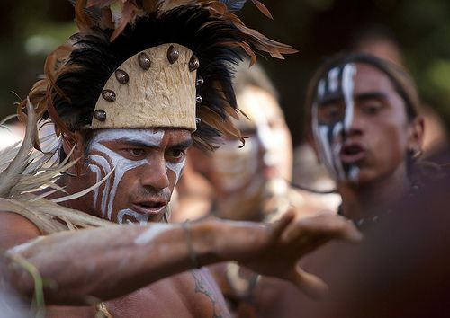 Tribal Dances During Carnival, Tapati Festival, Easter Island, Chile | por Eric Lafforgue