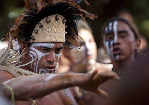 Tribal Dances During Carnival, Tapati Festival, Easter Island, Chile | por Eric Lafforgue