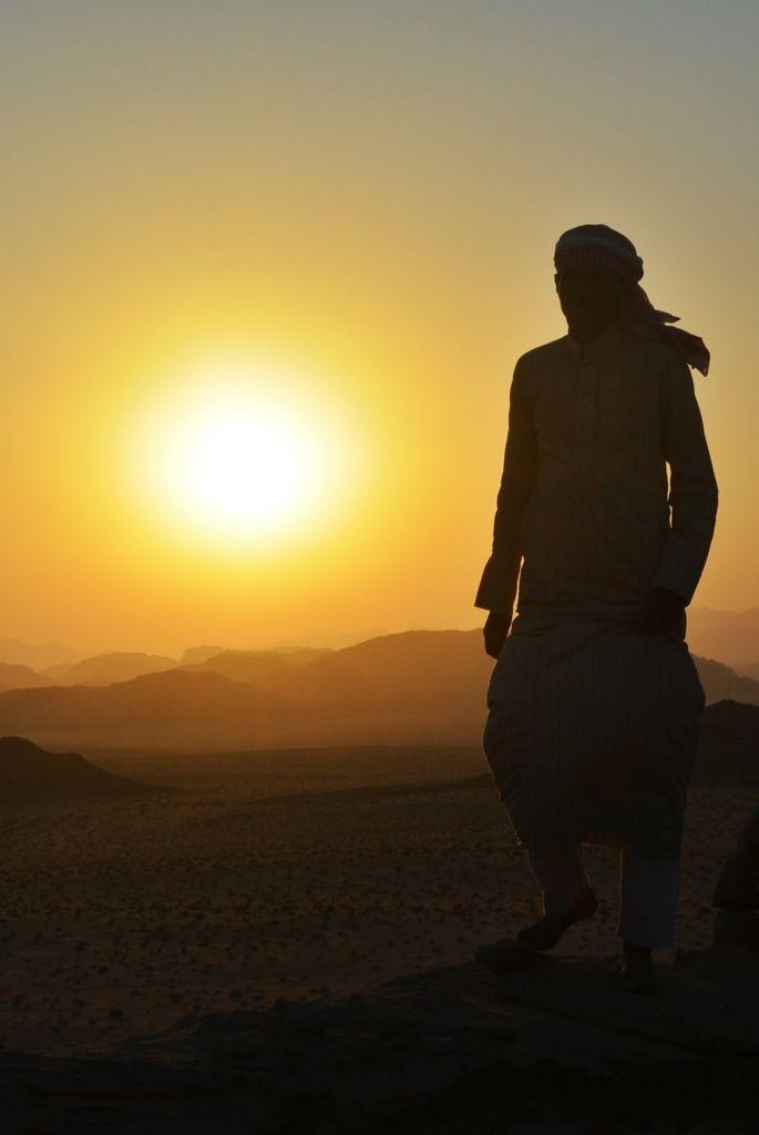Bedouin in the desert; MIddle East love jessplusmike.wordpress.com