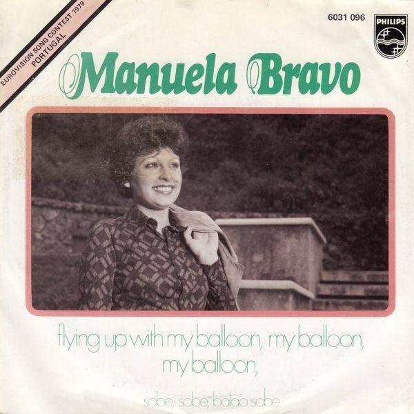 """""""Sobe, sobe, balão sobe"""" performed by Manuela Bravo. Portugal @ Eurovision 1979."""