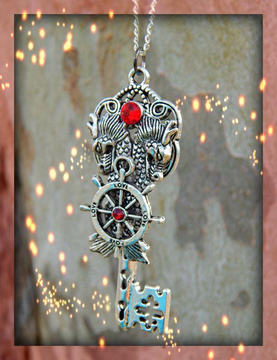 Unity Dragons Fantasy Key Ruby by ArtbyStarlaMoore on Etsy, $17.00