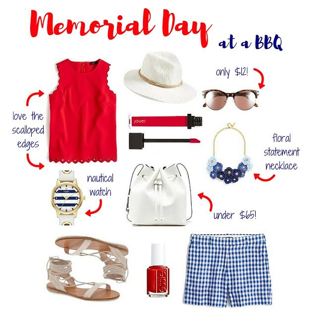Memorial Day Outfit Inspo: Pool or BBQ