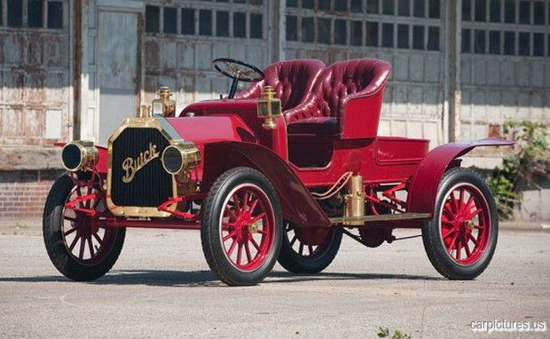 1908 Buick Model G Runabout http://www.davesinclairbuickgmc.com/