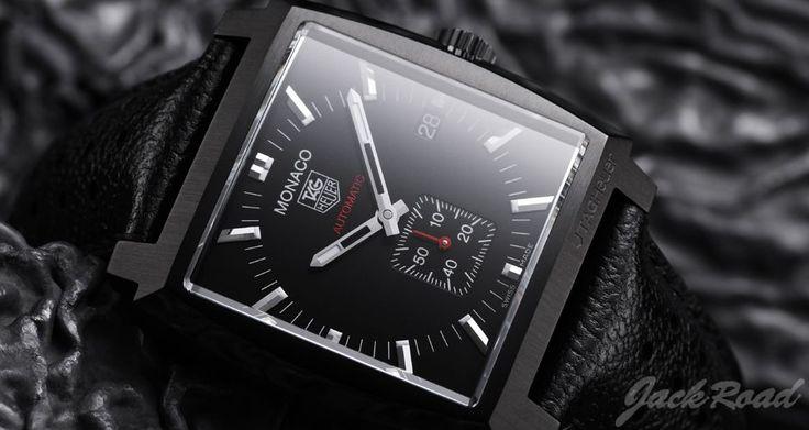 TAG HEUER Monaco Automatic Full Black / Ref.WW2119.FC6338