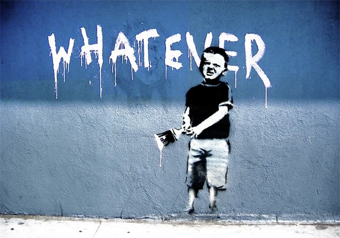 Whatever by Banksy
