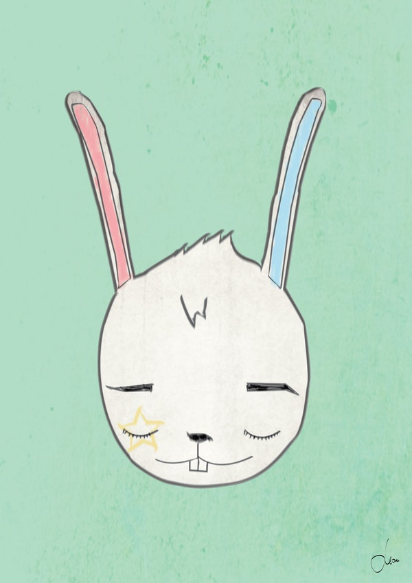 My illustration by Monika Zec, via Behance