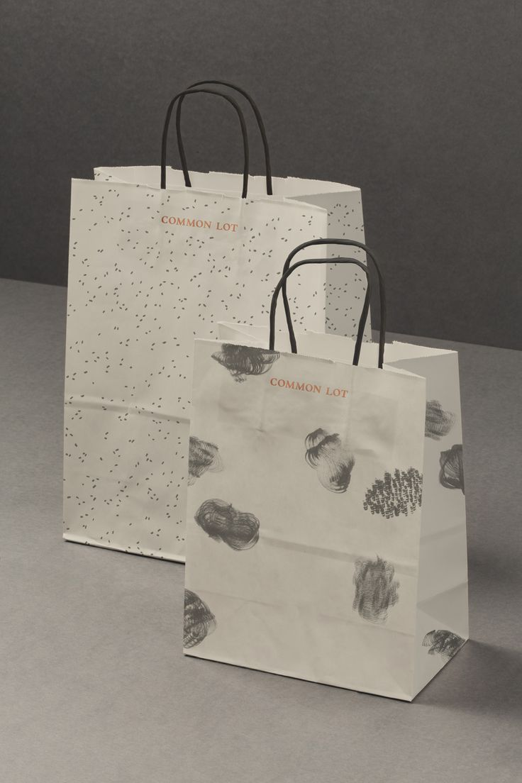 Common Lot by Perky Bros, United States. #branding #bags