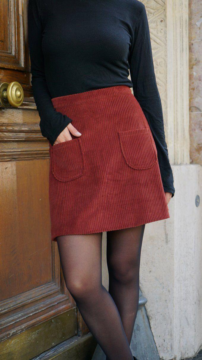 Collab I am Patterns x Marie Claire Idées : le patron de la jupe Sélène