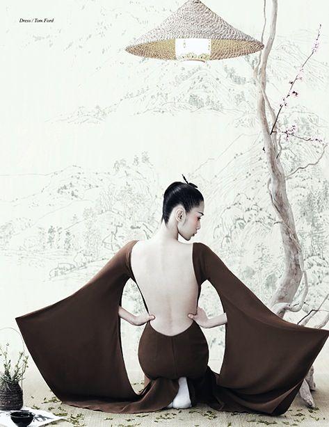 Liu LiJie By Yin Chao for Schön!