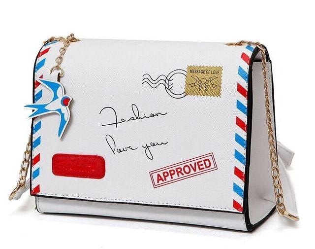 Doce e amável carta impressão saco cadeia fivela, nova moda das mulheres saco envelope ombro diagonal bolsas, bolsa do desenhador da senhora em Bolsas de Ombro de Bagagem & Bags no AliExpress.com   Alibaba Group
