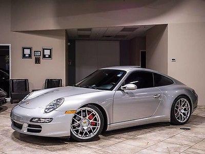 2008 Porsche 911  2008 Porsche 911 Carrera 4S Coupe 6 Speed MANUAL C4S BILSTEIN ALPINE $102K+ MSRP