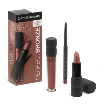 bareMinerals Perfection Lip Trio - Perfect Bronze