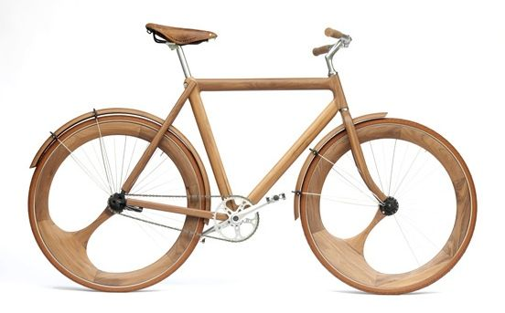jan gunneweg. wood bike.