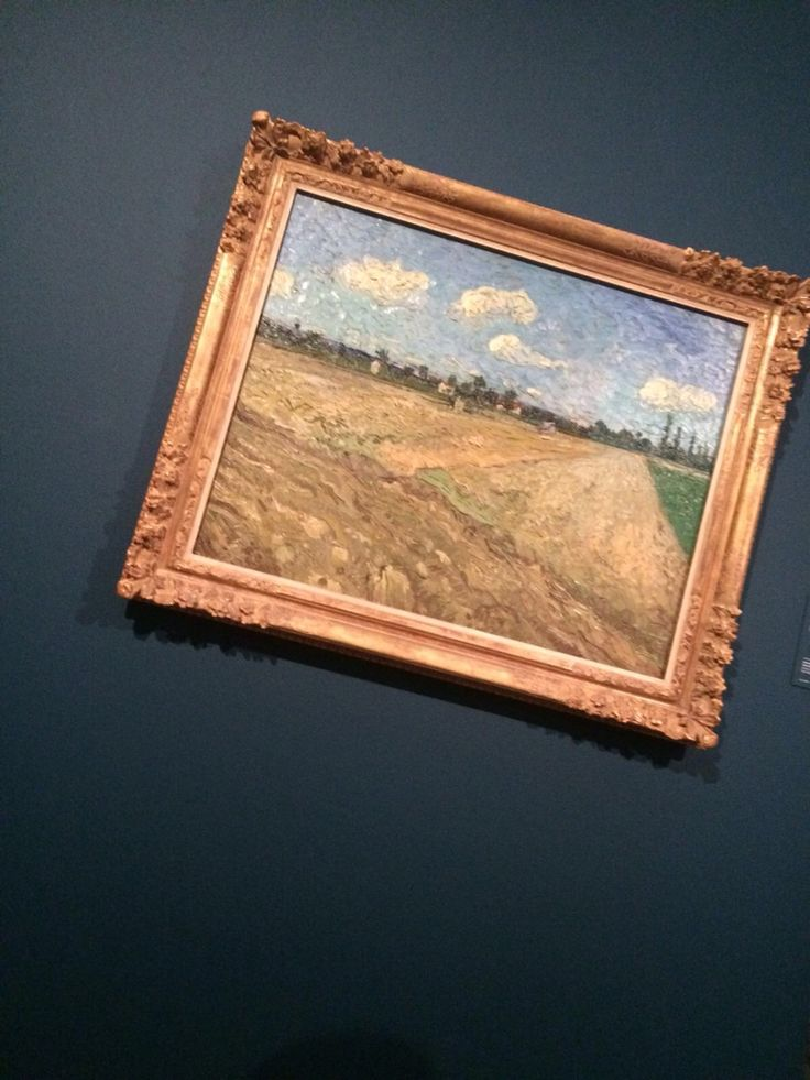 The photo was taken from Van Gogh musuem