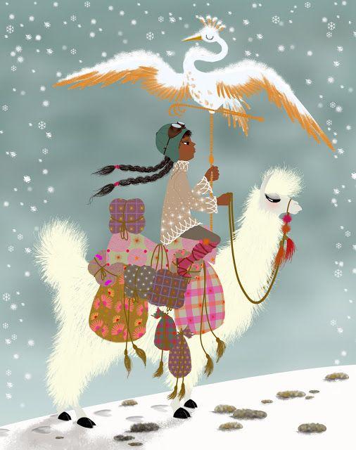 Expédition - Illustration Marie-Rose Boisson