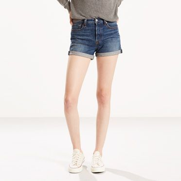 The cheekiest shorts in your closet. Inspired by vintage Levi's® style. Hugs your waist and hips, showcasing your best assets.