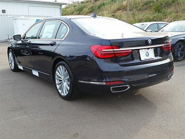 BMW: 7-Series 740i 740 i 7 series new 4 dr sedan automatic gasoline 3.0 l straight 6 cyl imperial blu