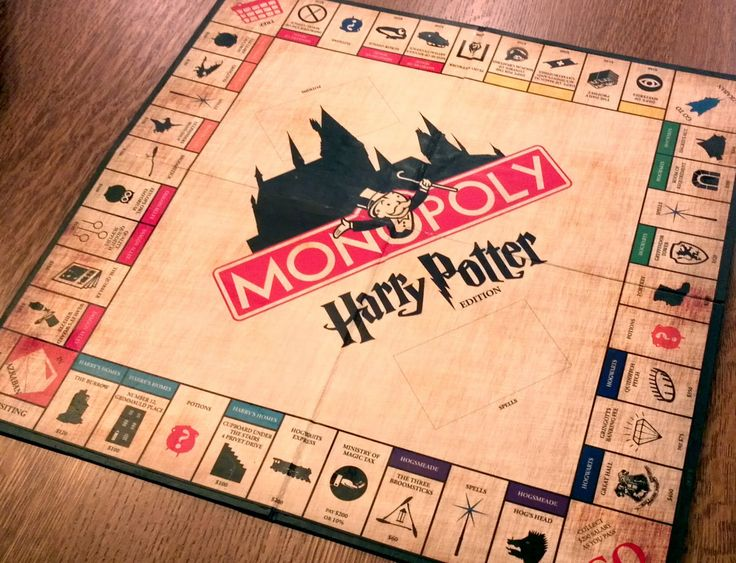 Design + Technology Education: Harry Potter Monopoly