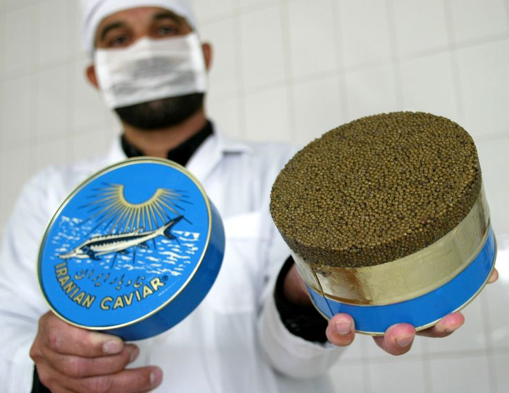 "The most expensive things in the world money can buy Most expensive caviar Almas, a caviar from the Iranian Beluga fish, costs $34,500 (£20,000) per kg. Also called ""black gold,"" the caviar is produced from the eggs of a rare albino sturgeon between 60-100 years old."