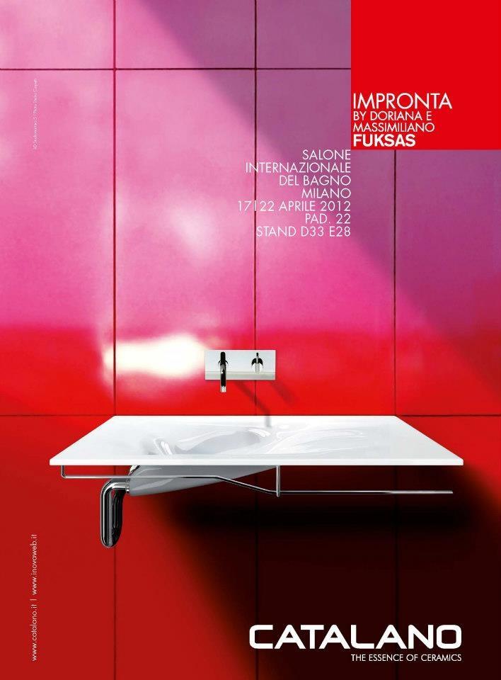 Advertising Catalano, salone del Mobile 2012, Corriere della Sera