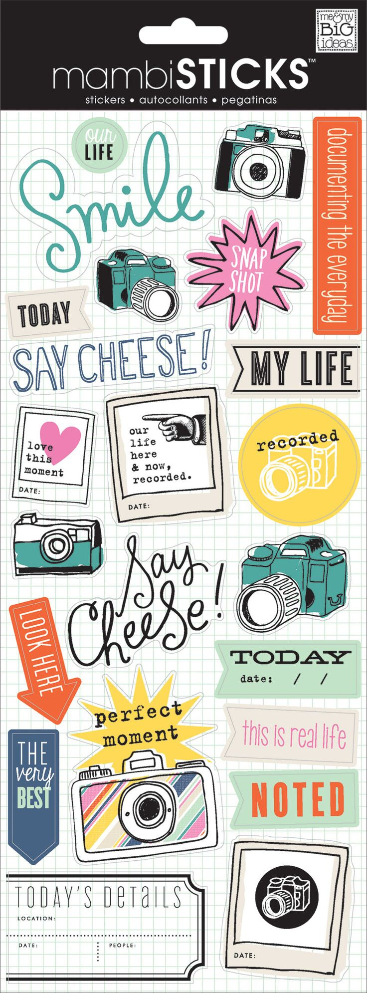 Scrapbook ideas about life - My Life