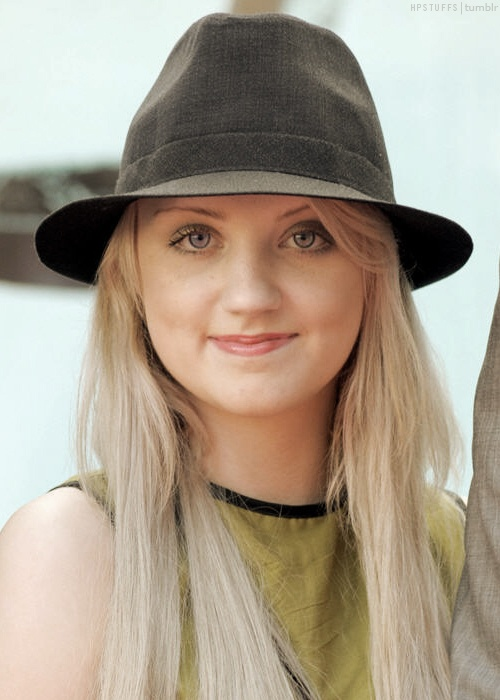 Evanna Lynch - she's awesome.