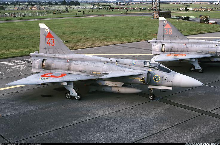 Saab JA37D Viggen - Sweden - Air Force