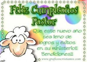 ¡ Feliz cumpleaños pastor¡
