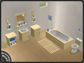 Around The Sims 2 | Objects | Bathroom | Modern Line