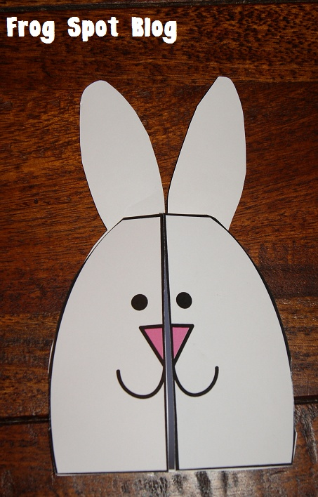 Easter Bunny Rabbit Cards