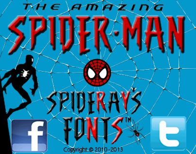 The magic of Spiderman's font