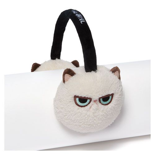 Grumpy Cat Earmuffs #Tard #TardarSauce #GrumpyCat