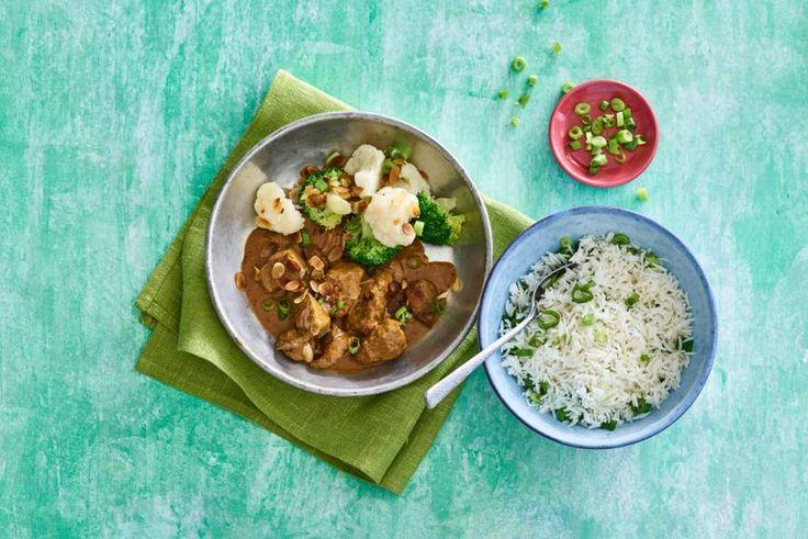 Een heerlijk gekruide, milde curry; staat in een kwartier op tafel - Recept - Alllerhande