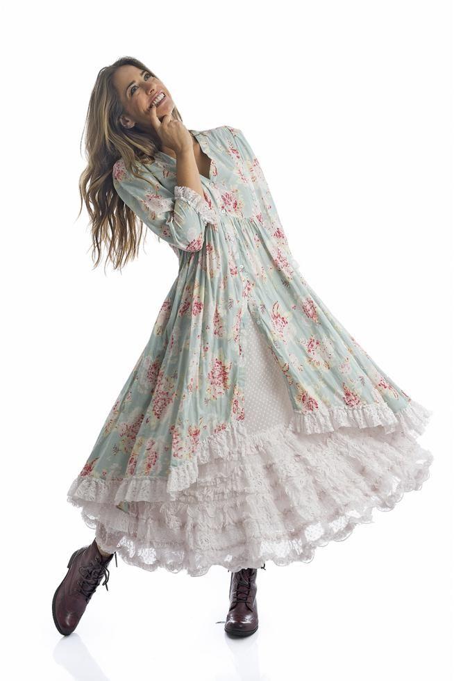 robe à fleurs vintage pour femme