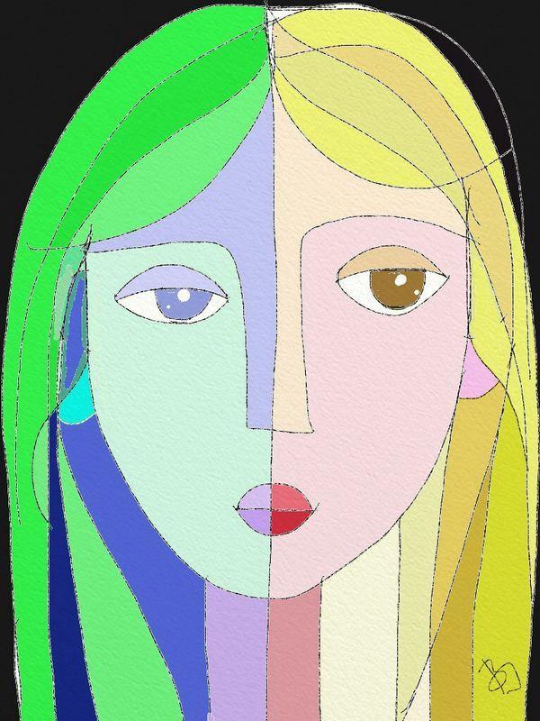 Girl variations 7.by BI