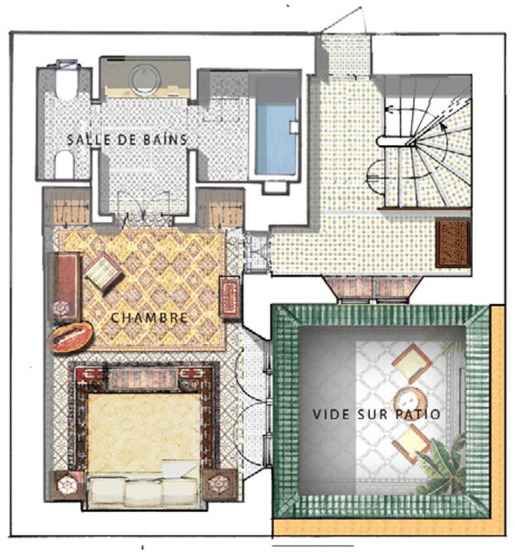 490 best moroccan house images on pinterest morocco for Moroccan house plans