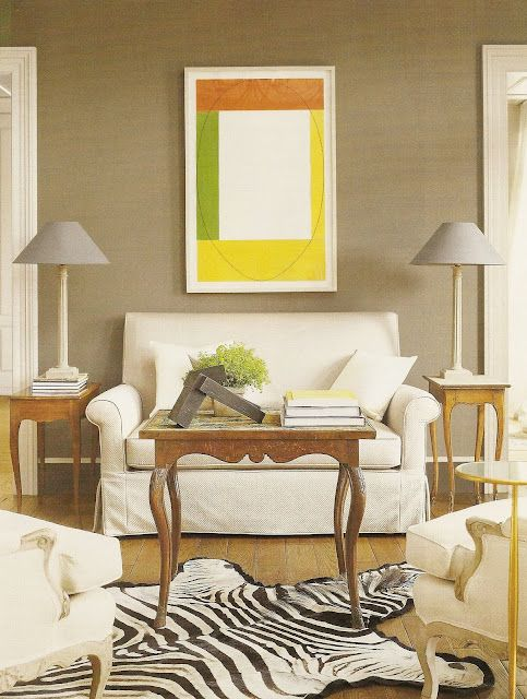 Nancy Braithwaite: Decor, Modern Art, Living Rooms, Living Spaces, Colors, Nancy Braithwait, Small Spaces, Rugs, Eclectic Interiors